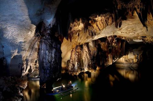 Подземная река Палаван: пещера на лодке